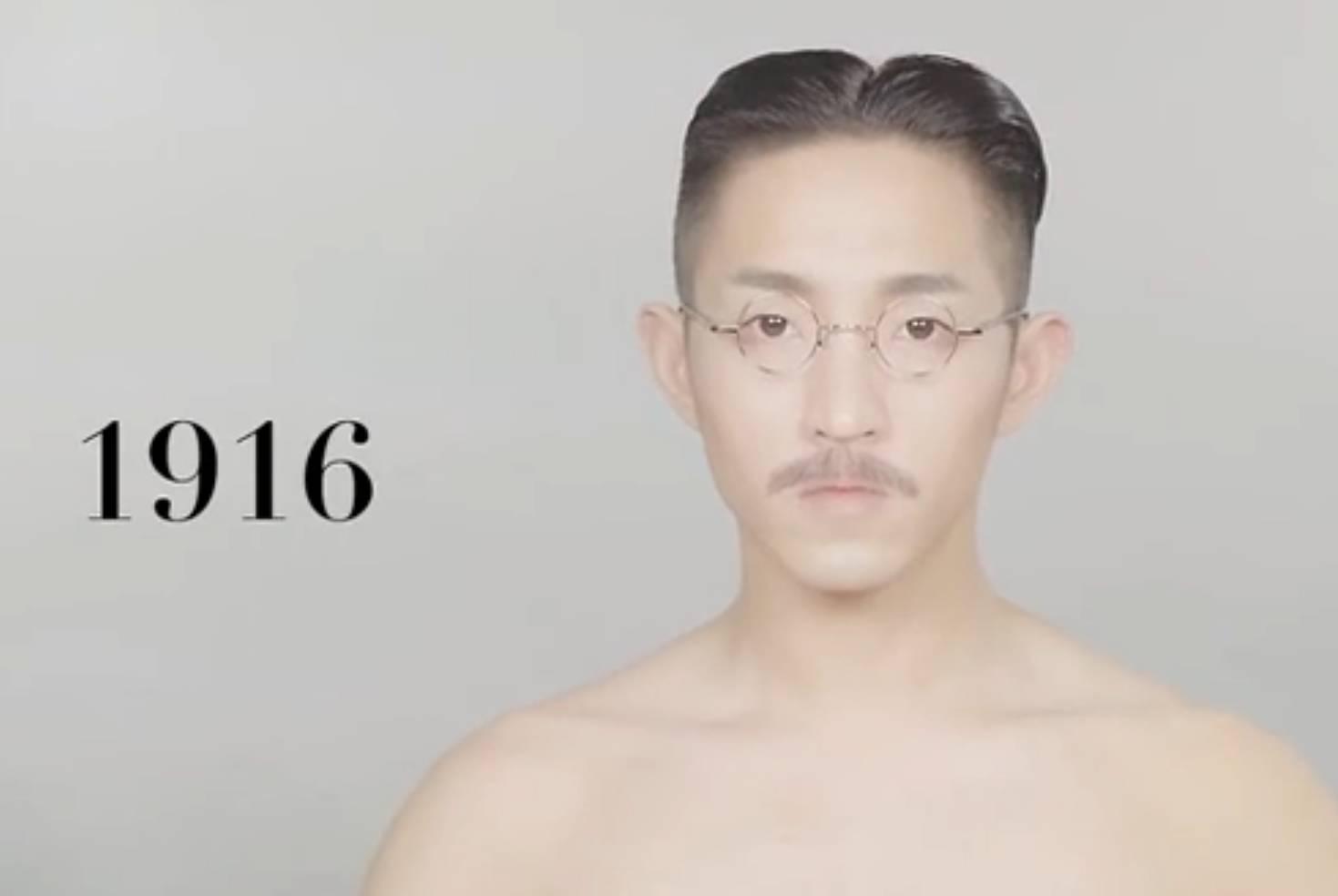 <b>100年来中国男士发型的变化,实在是太魔性了!</b>