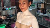 泰国的化妆技术有多强?黑妹变白雪公主,网友:这