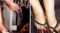 <b>美女十年不剪指甲,还做各种美甲,只能穿拖鞋,基本不出门</b>