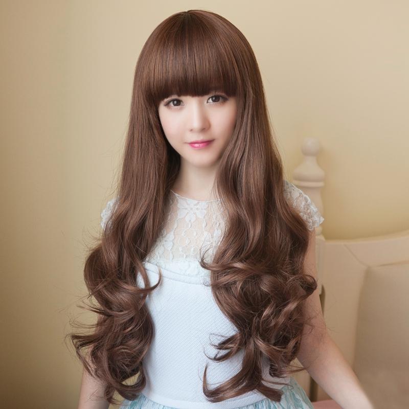 <b>适合头发少大圆脸女生发型你知道几个</b>